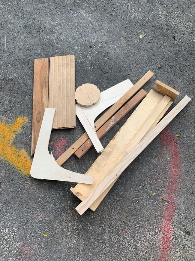 build 5 materials