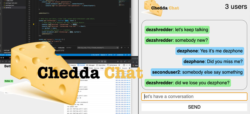 Chedda Chat - A better chat