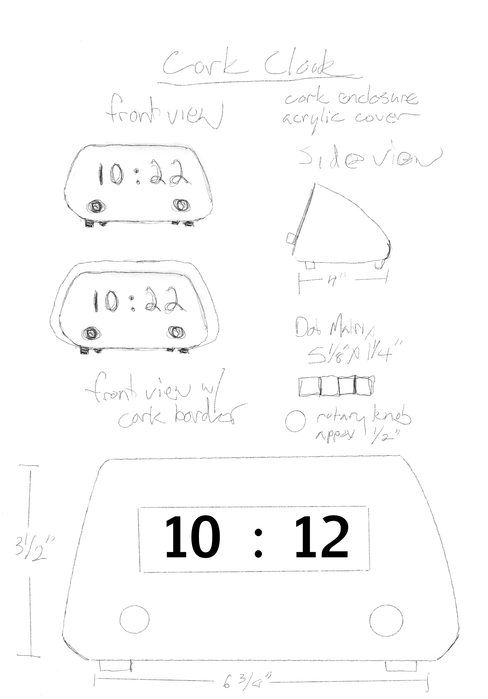 clock prep sketches