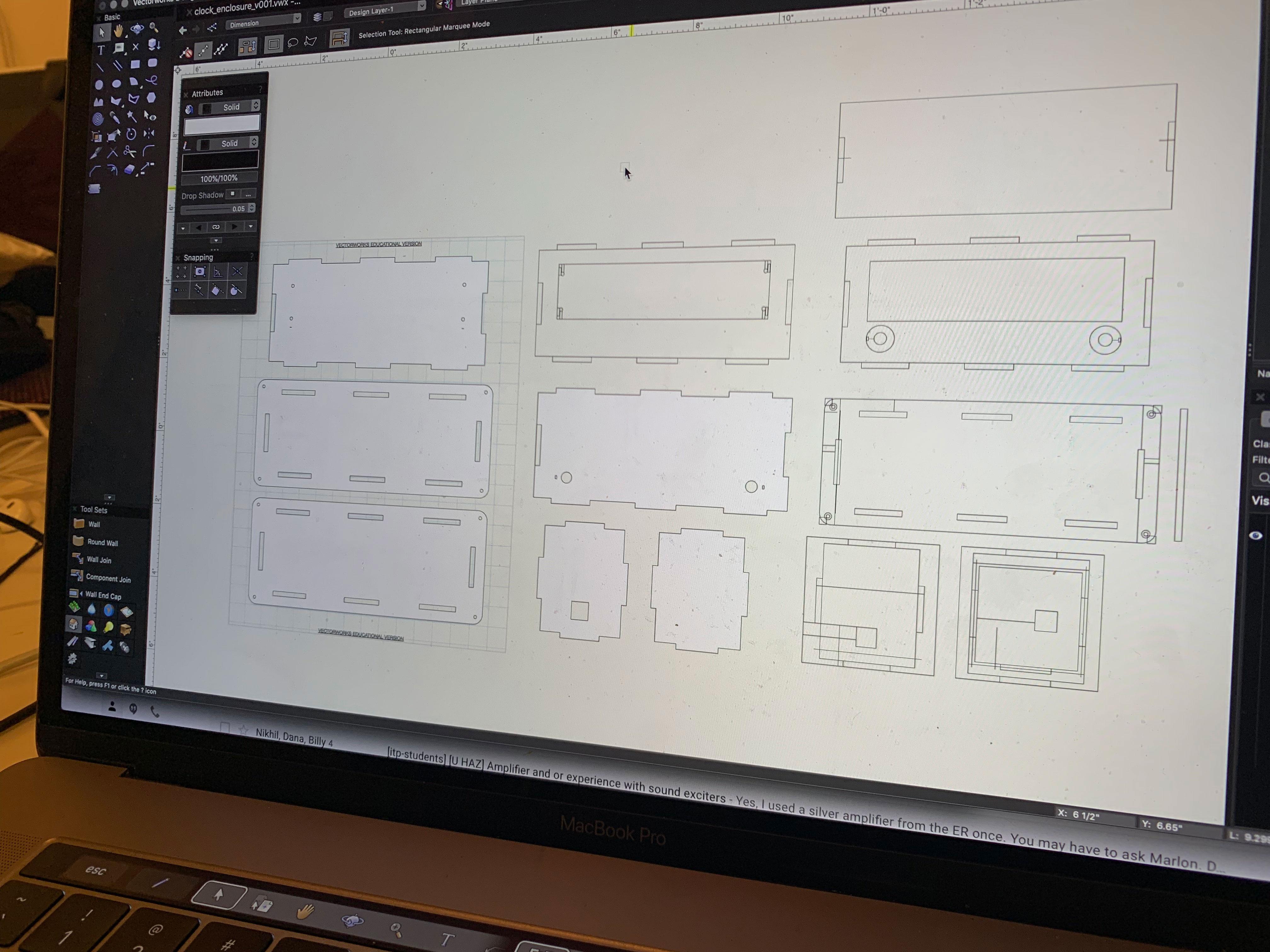 vectorworks layout