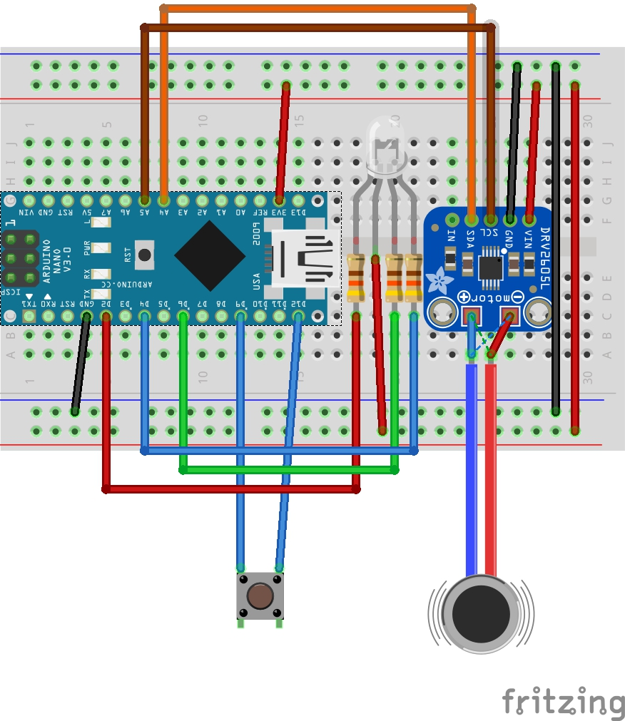 Fig. 2 ExposeHid Breadboard