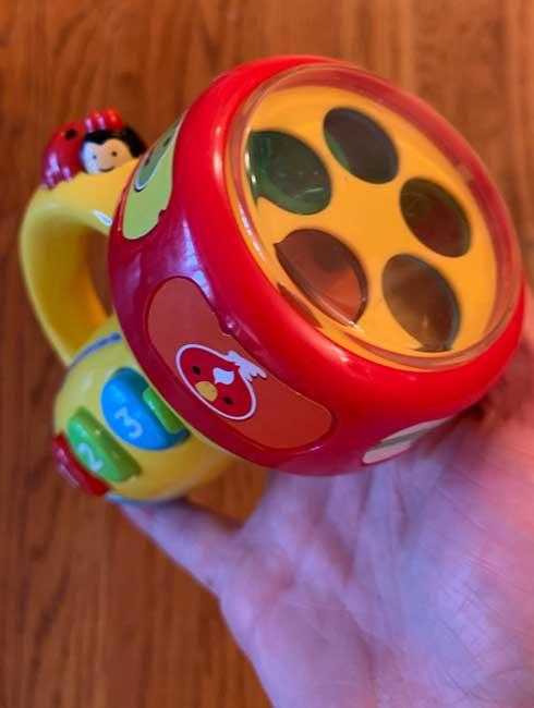 my son's toy flashlight