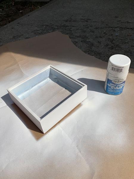 painting enclosure box