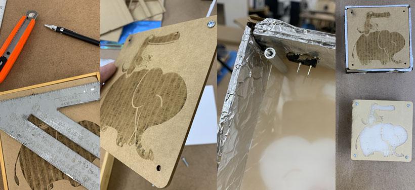 light box prototypes