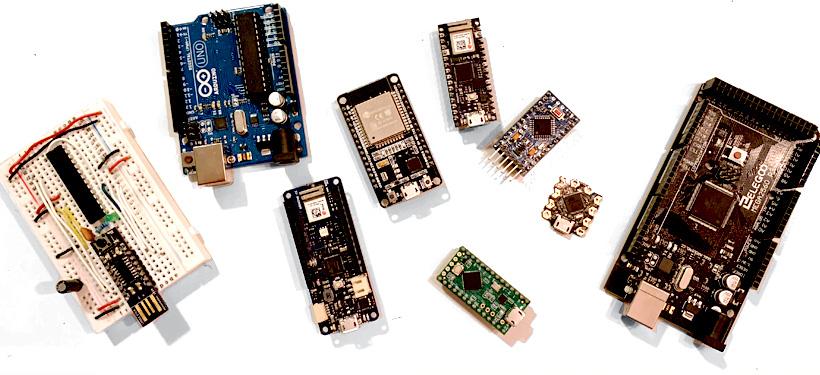 micro controller comparisons