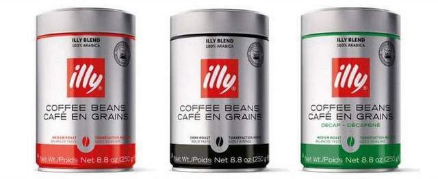 illy coffee can