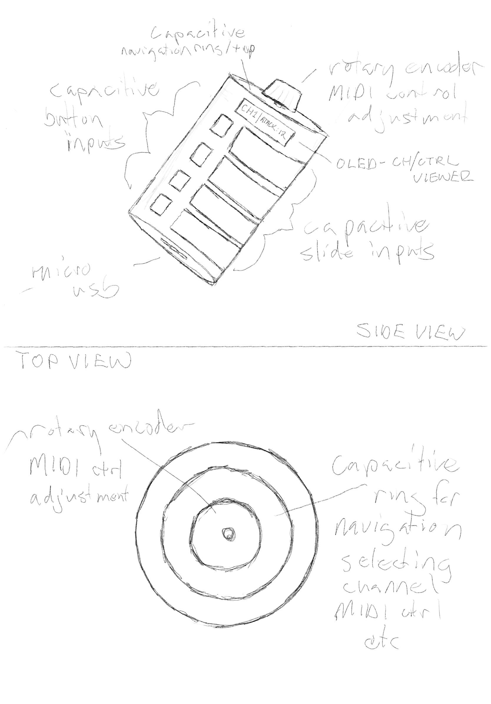 Instrument sketch