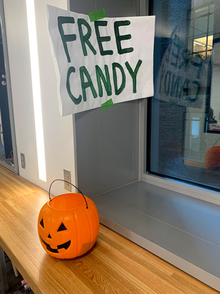 free candy trick or treat
