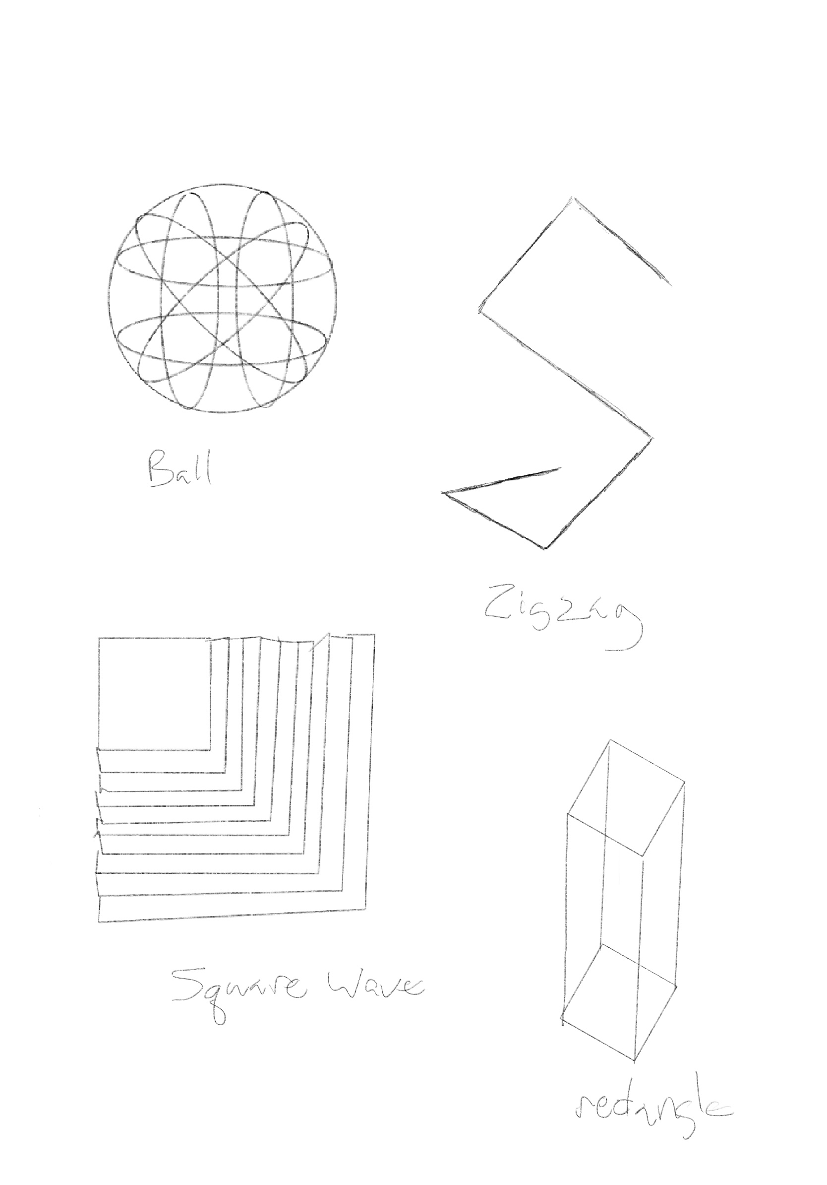 potential metal shapes / sculptures