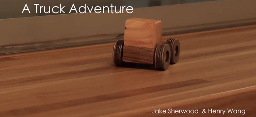 A Truck Adventure by Jake Sherwood & Henry Wang